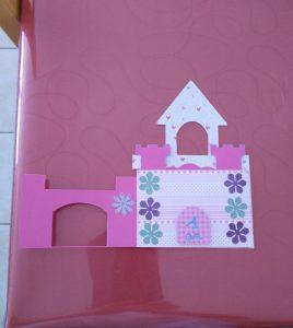 carte château de princesse girly
