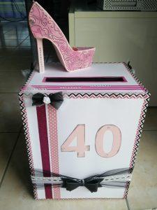 urne girly 40 ans fille