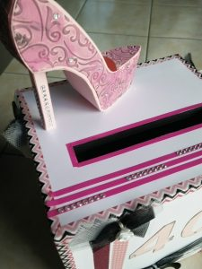 urne girly pour 40 ans