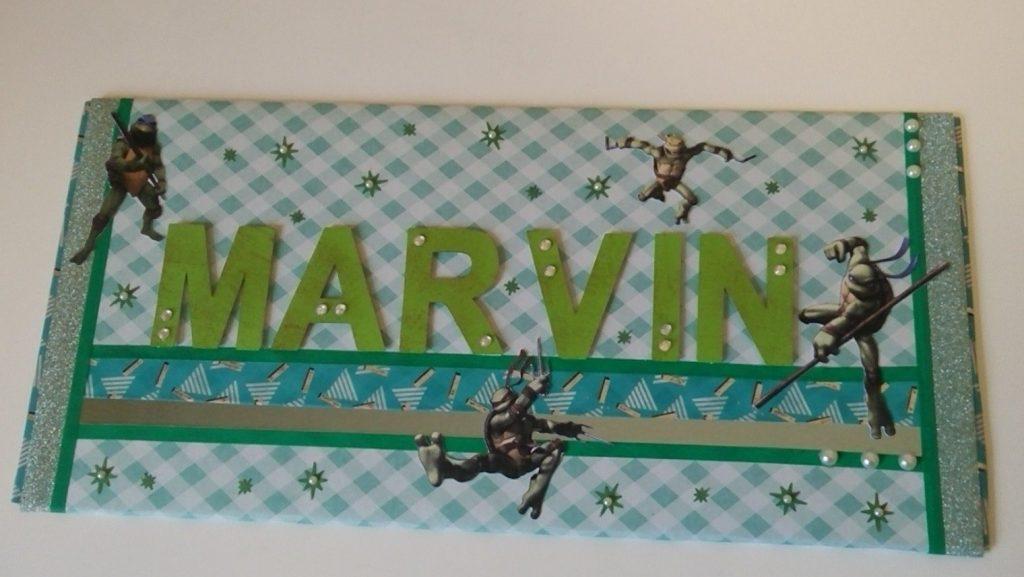 cadre de porte pour marvin fan des tortues ninja