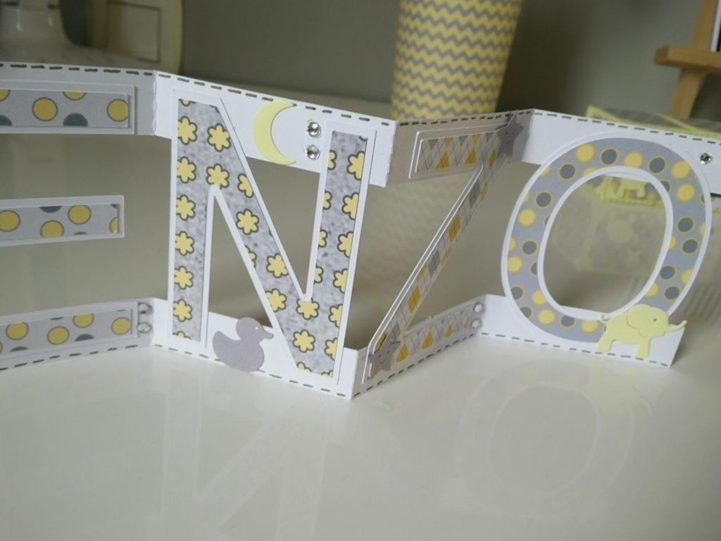 lettres décoratives enzo