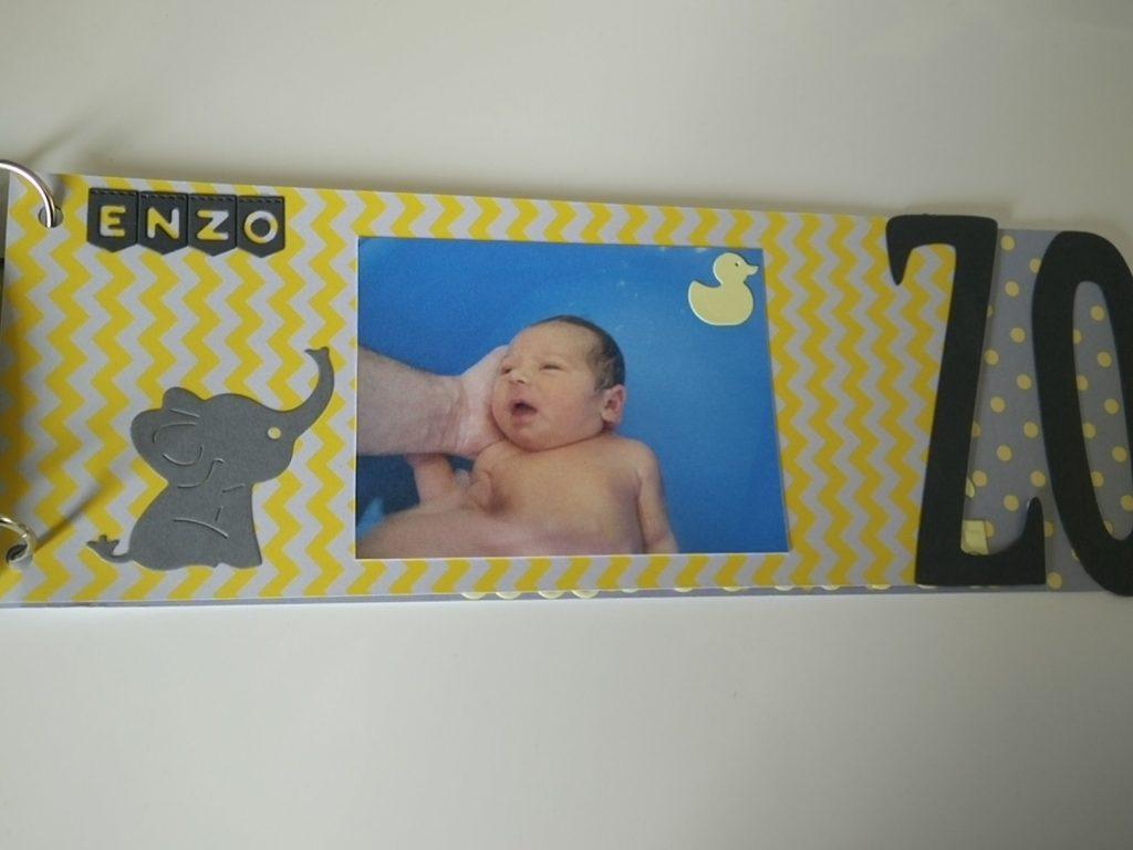 mini album naissance bébé