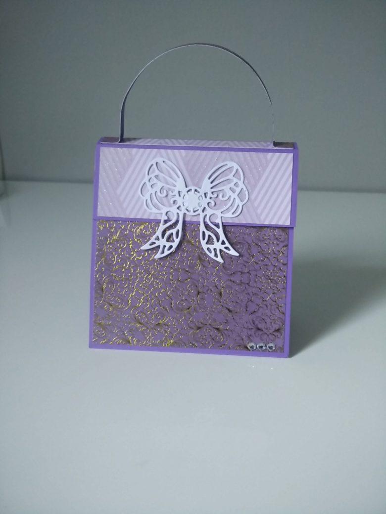 album photo en papier en forme de sac