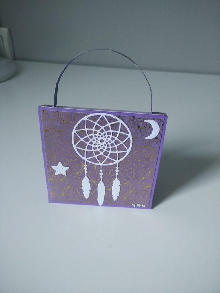 dos de l'album en forme de sac